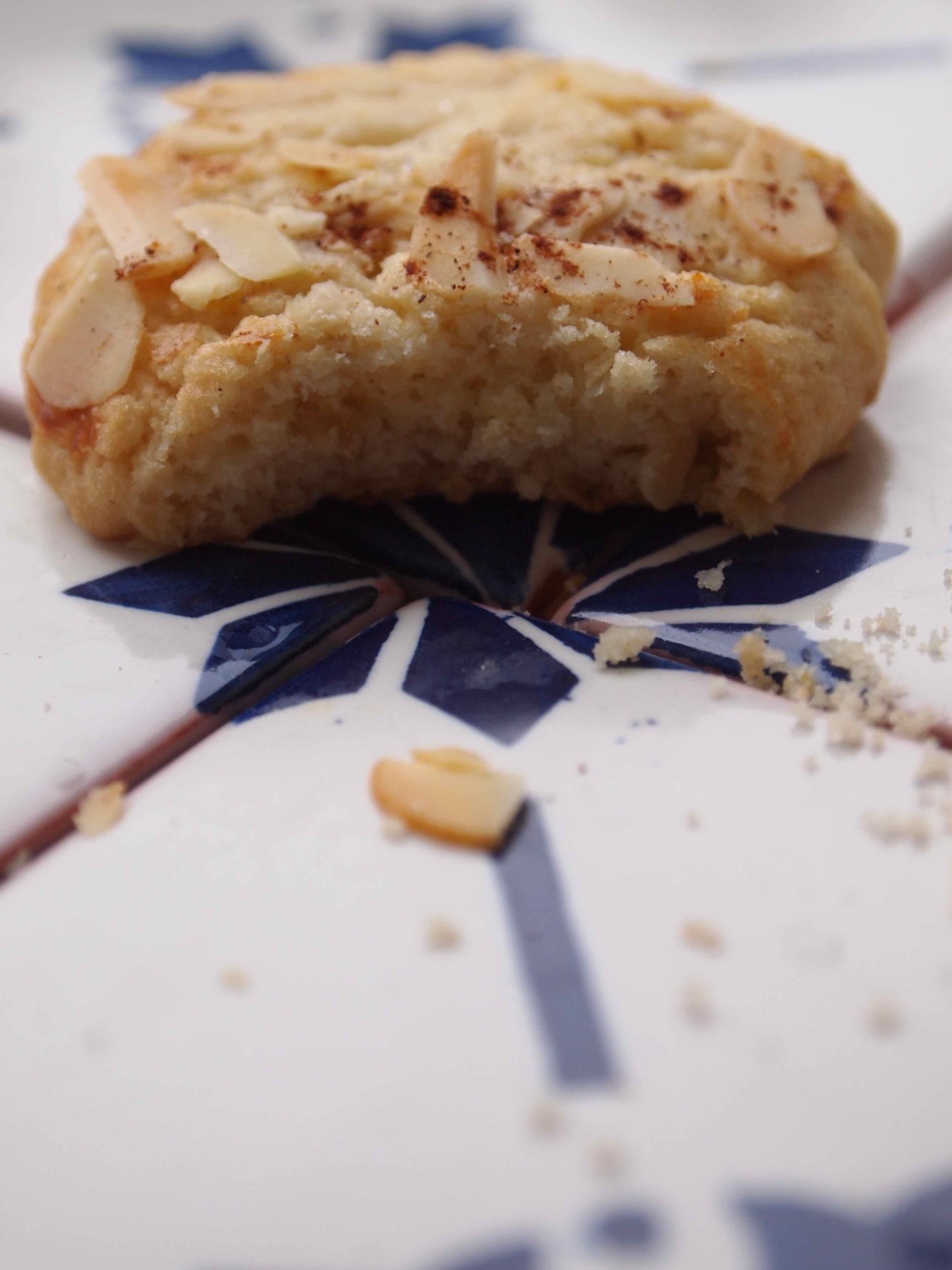 Haferflocken-Mandel-Zimt-Keksen
