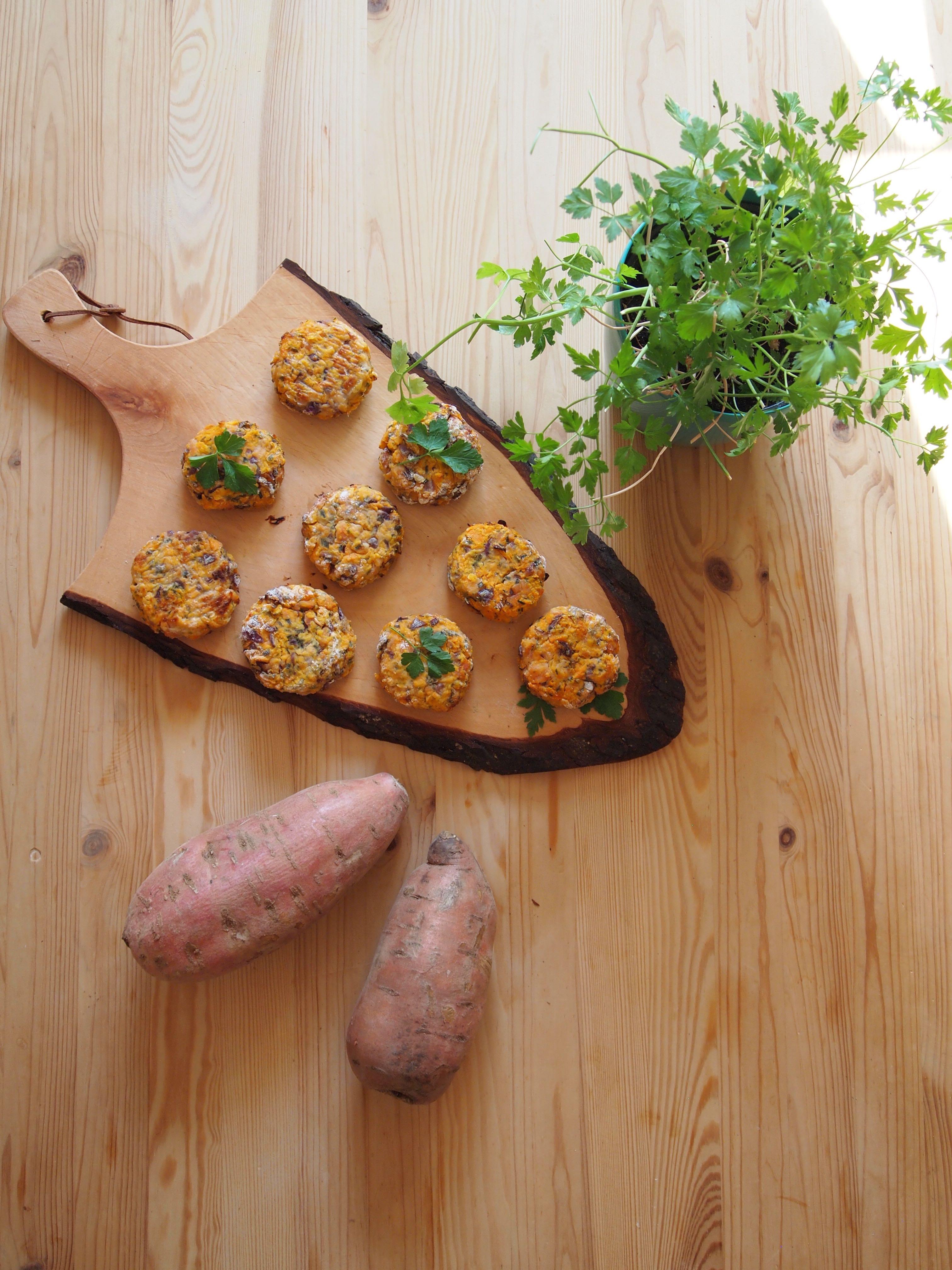 Süßkartoffel-Taler