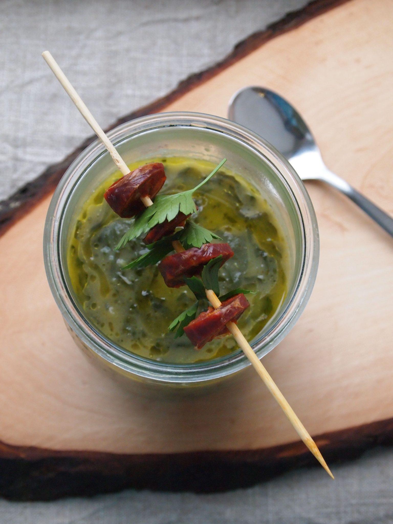 Caldo Verde - Die berühmte grüne Portugieische Suppe