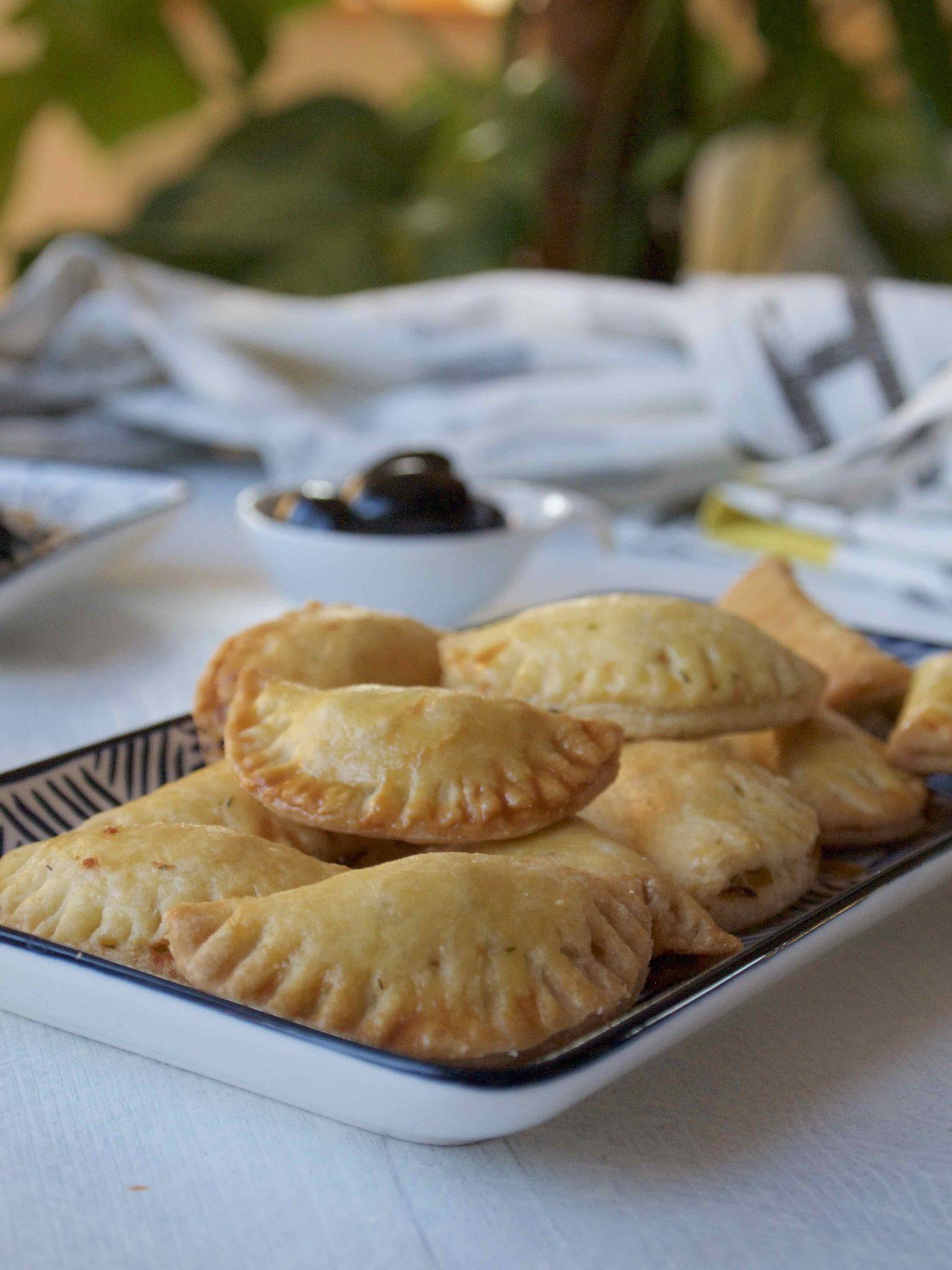 Empanadas de Salmão - Lachs-Empanadas