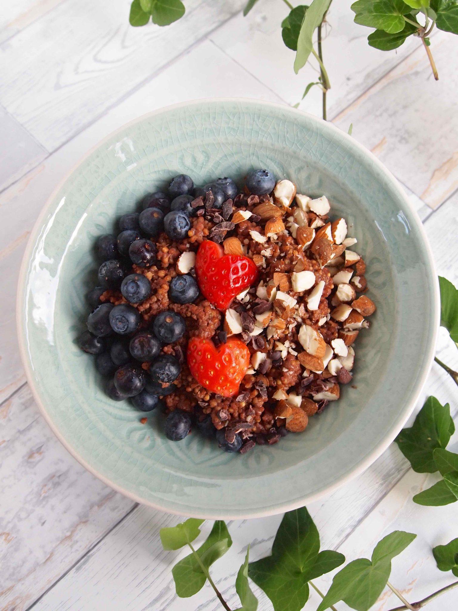 Schoko-Hirse-Porridge