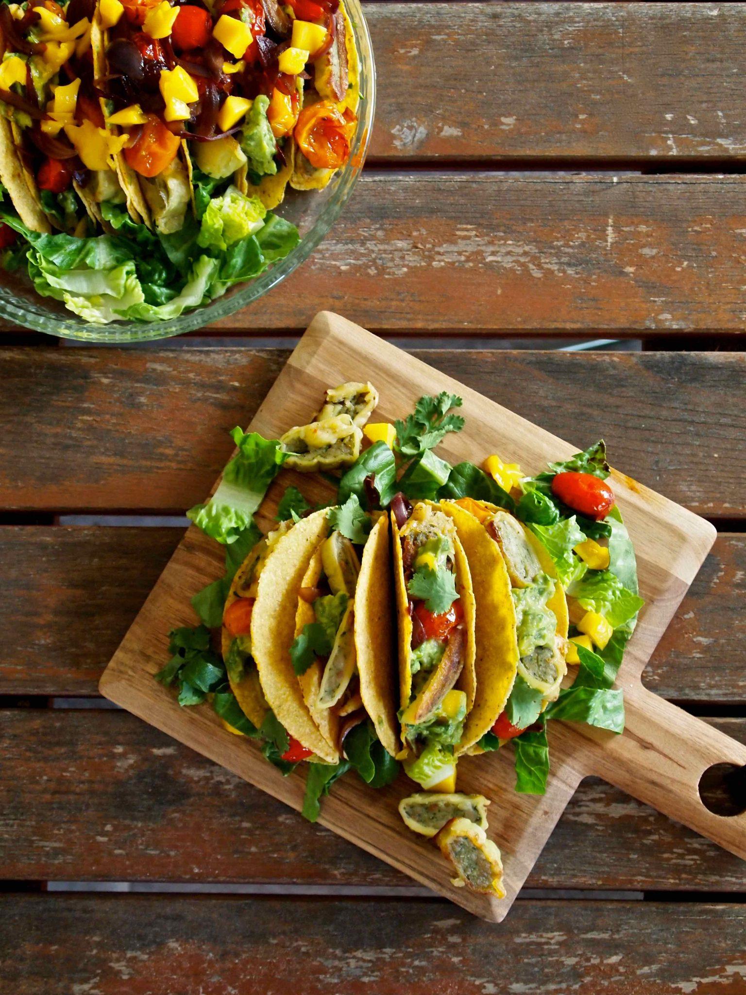 Maultaschen-Tacos