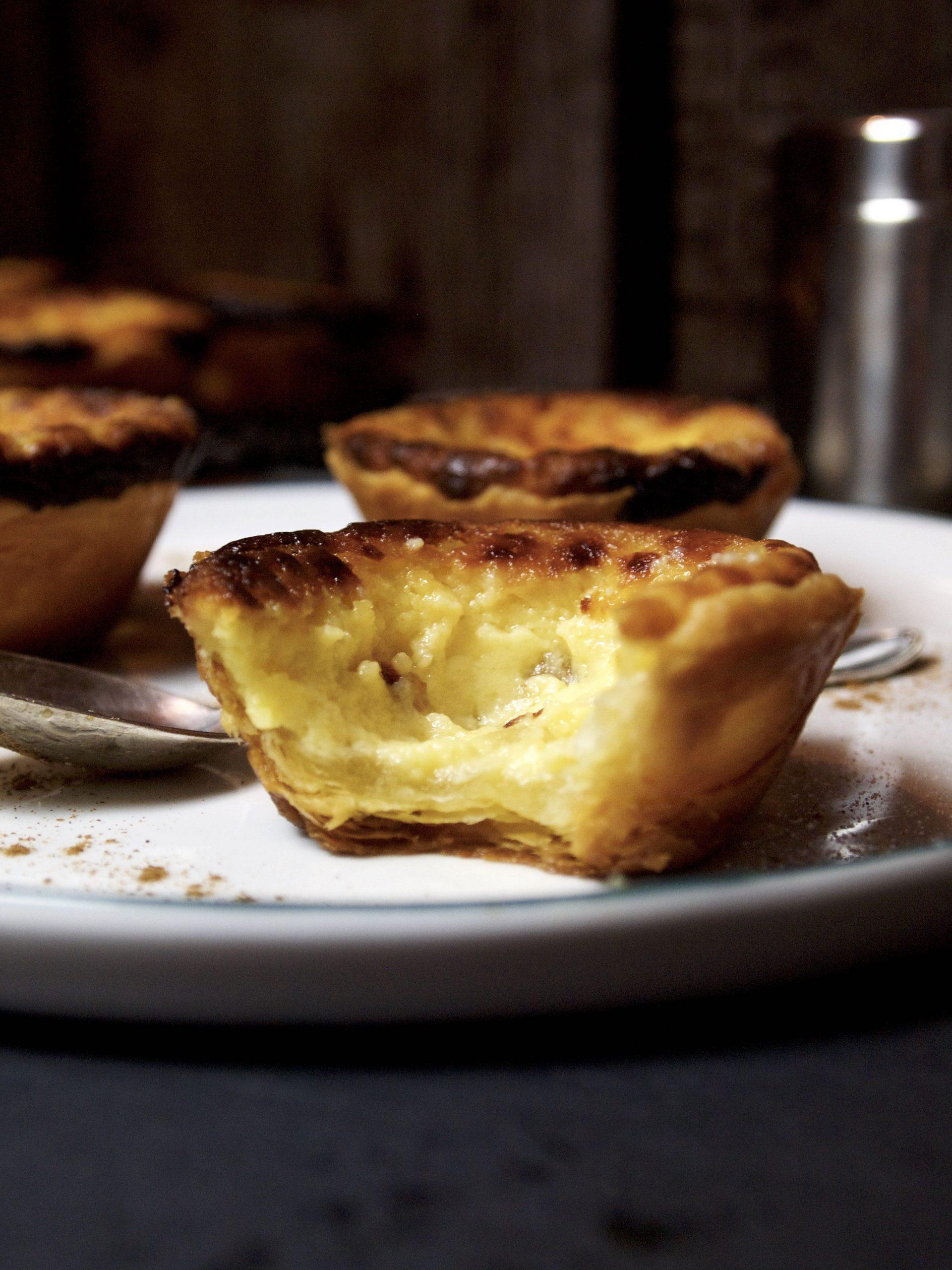Pasteis de Nata - Die berühmten Portugieischen Puddingtörtchen