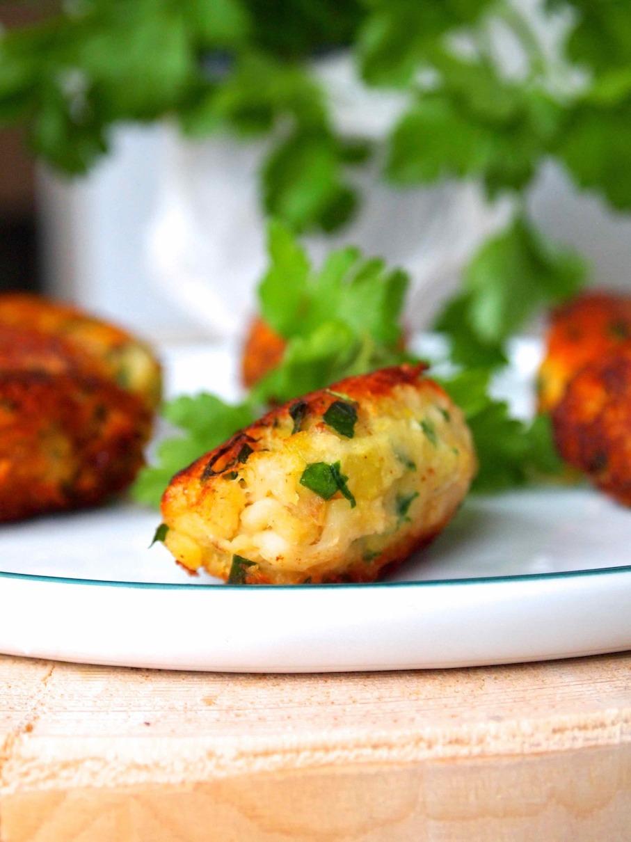 Pastéis de Peixe - Portugiesische Fisch-Kartoffelküchlein