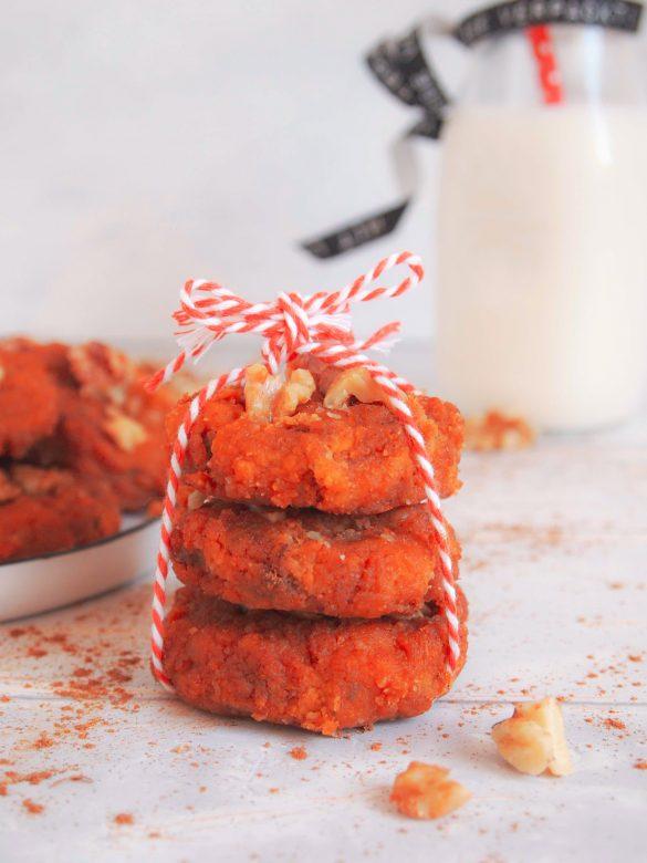 Süßkartoffelkekse