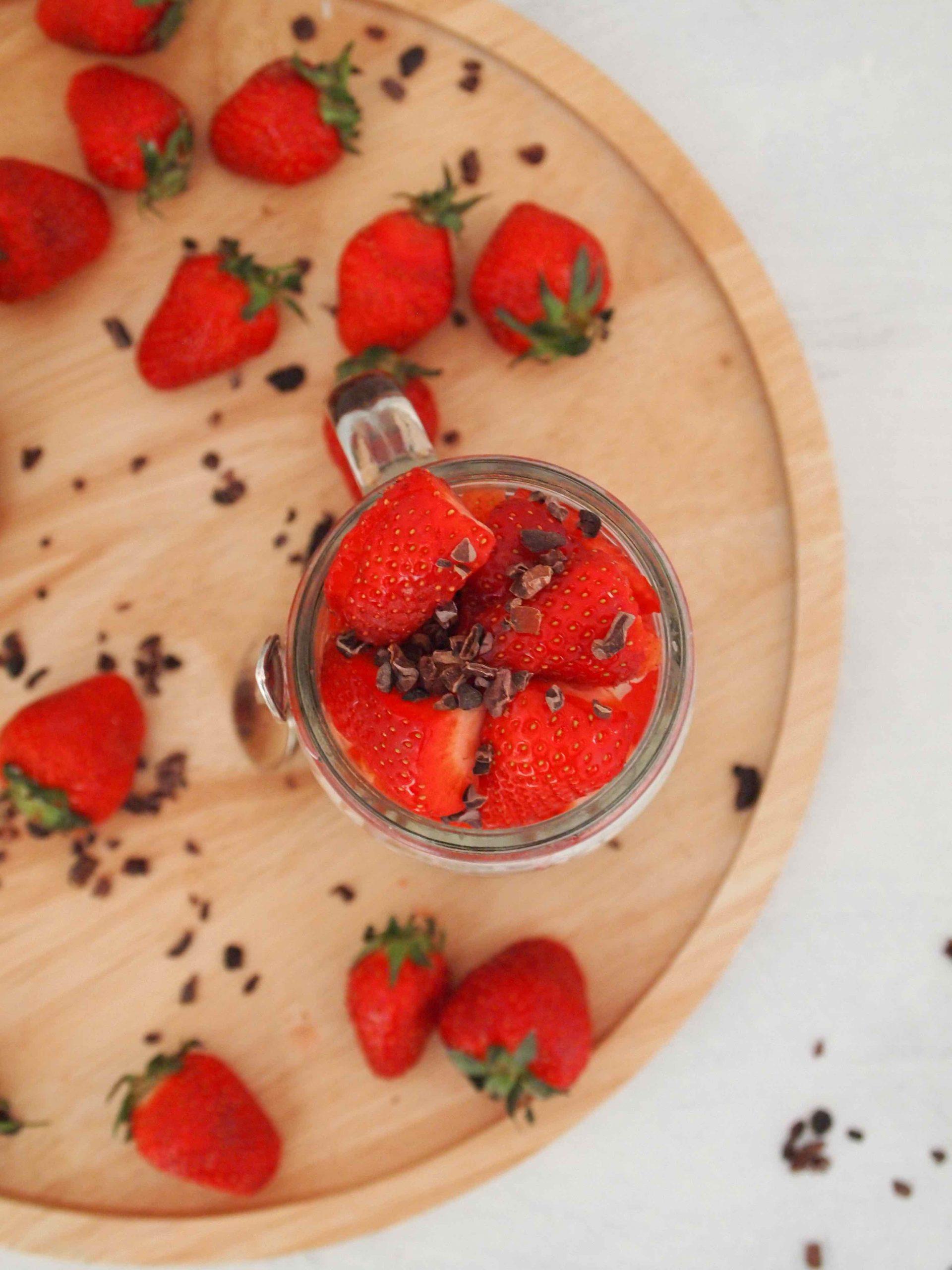 Vanille-Hirse-Porridge