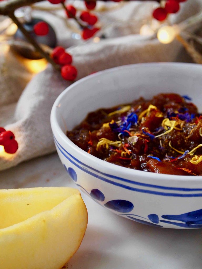 Weihnachts-Chutney mit Portwein