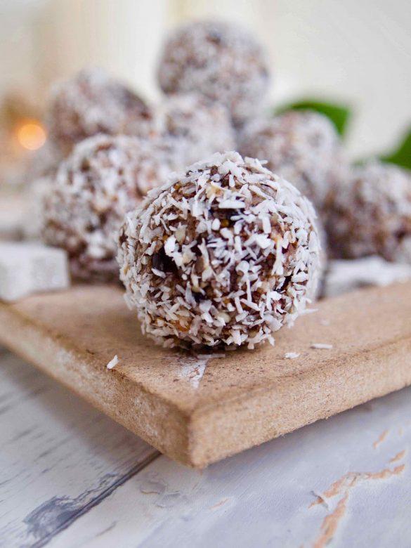Feigenkonfekt - Zuckerfreie Weihnachtsnascherei