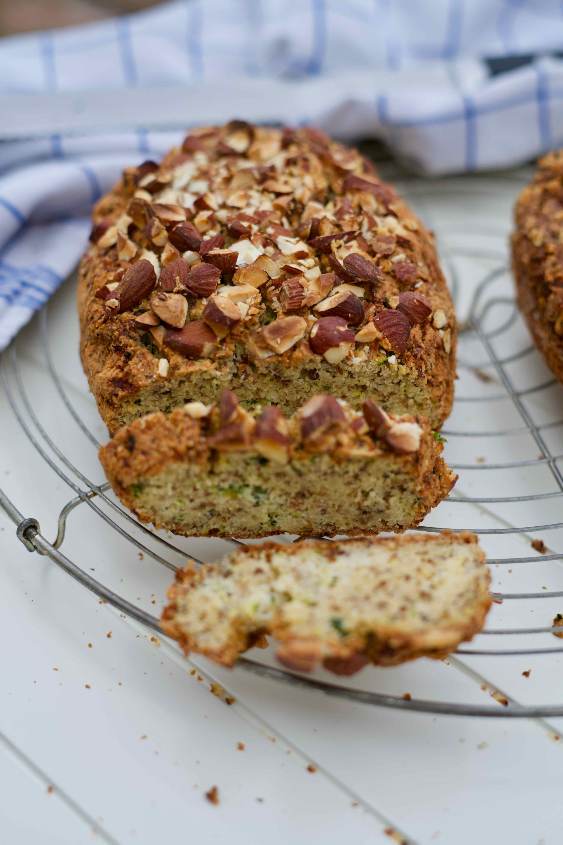 Low Carb Zucchini-Brot