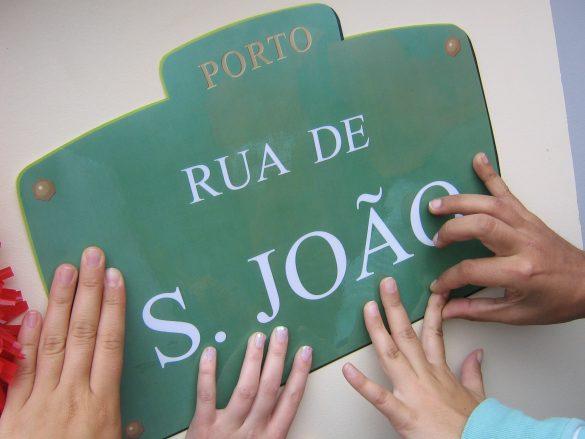 Portugiesischer Schokoladenkuchen und kleines Portoglück