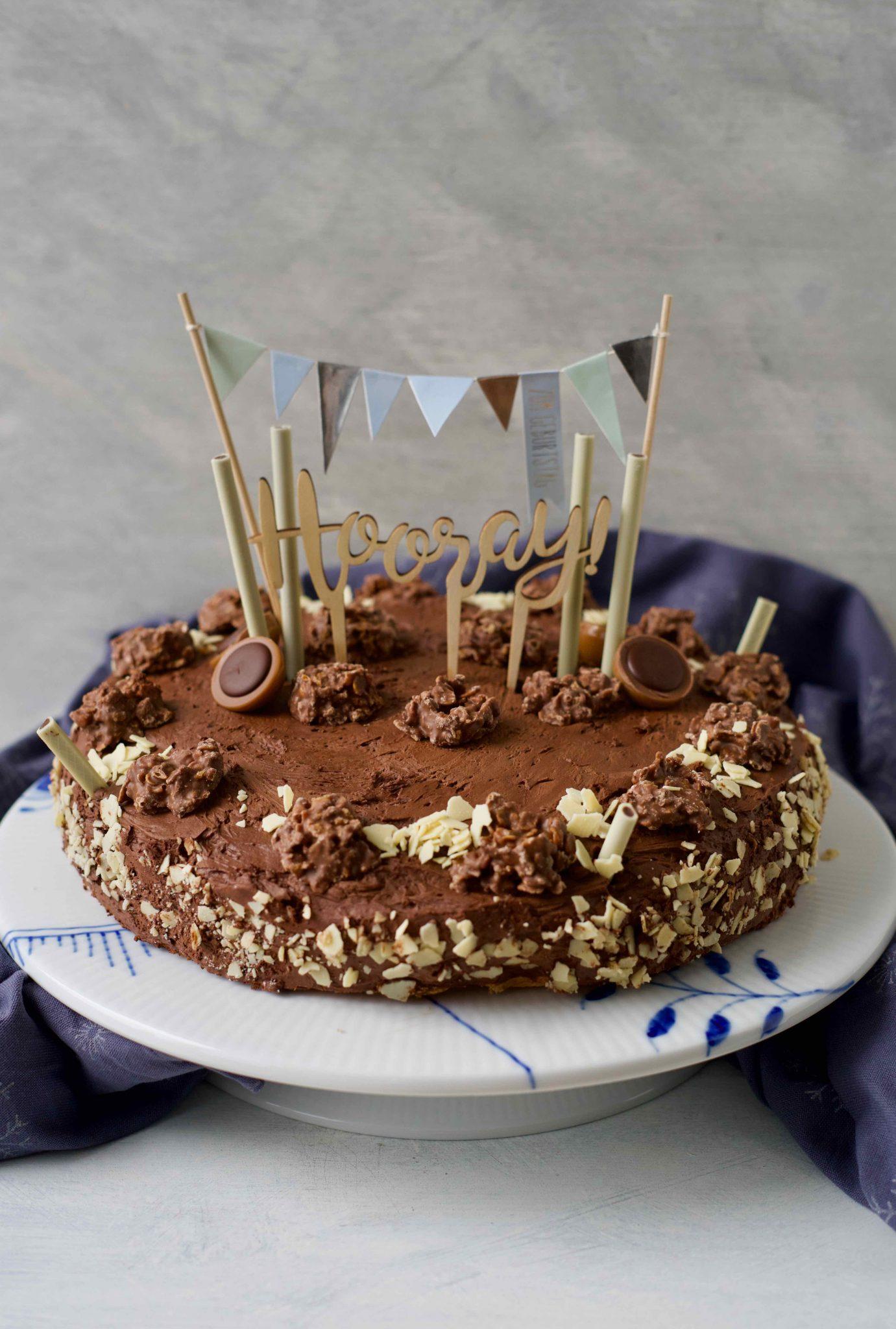 Schokocrossies-Torte