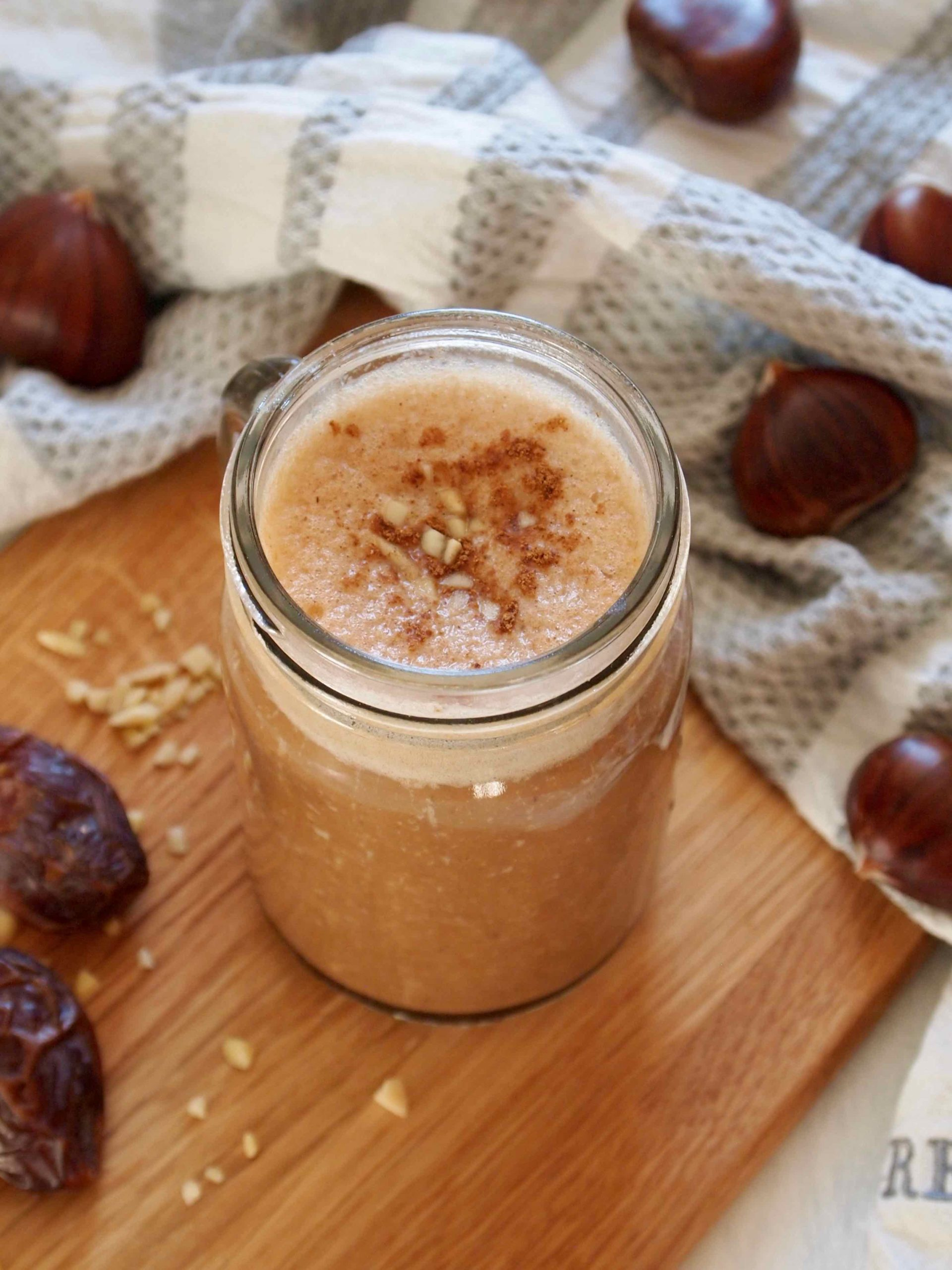 Rezept für Dattelcino Smoffee - Smoothie mit Espresso