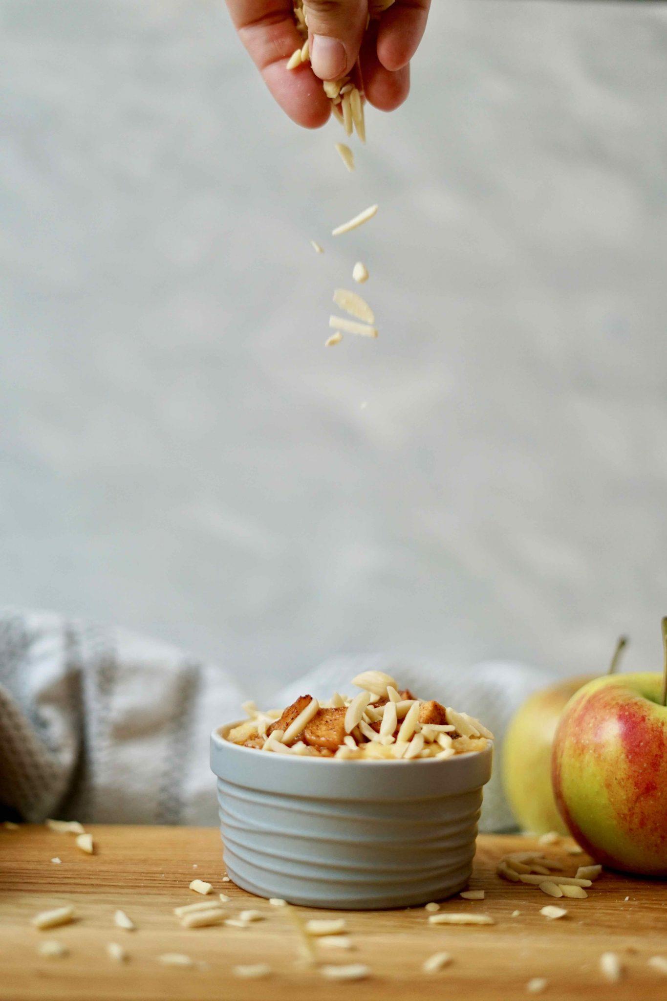 Blogevent #diearchekocht - Lieblingsgerichte aus der Kindheit Apfel-Milchreis-Auflauf