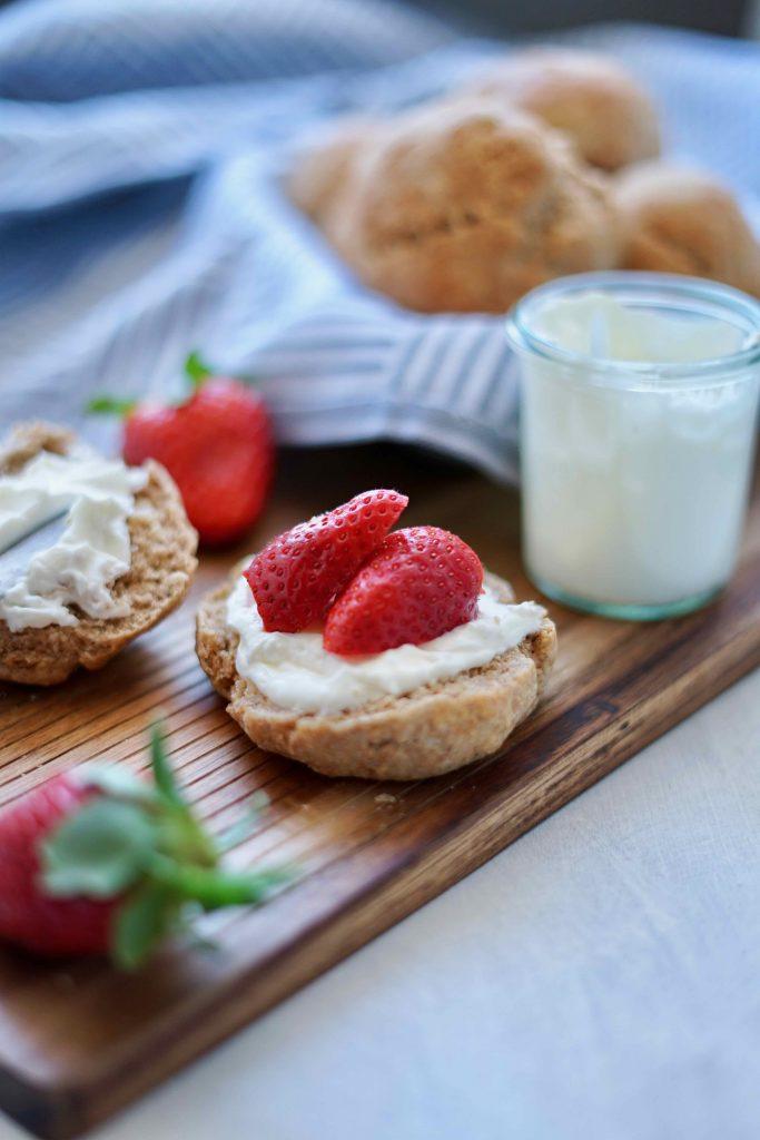 Achtsamkeit in der Küche und ein Rezept für schnelle Dinkel-Skyr ...
