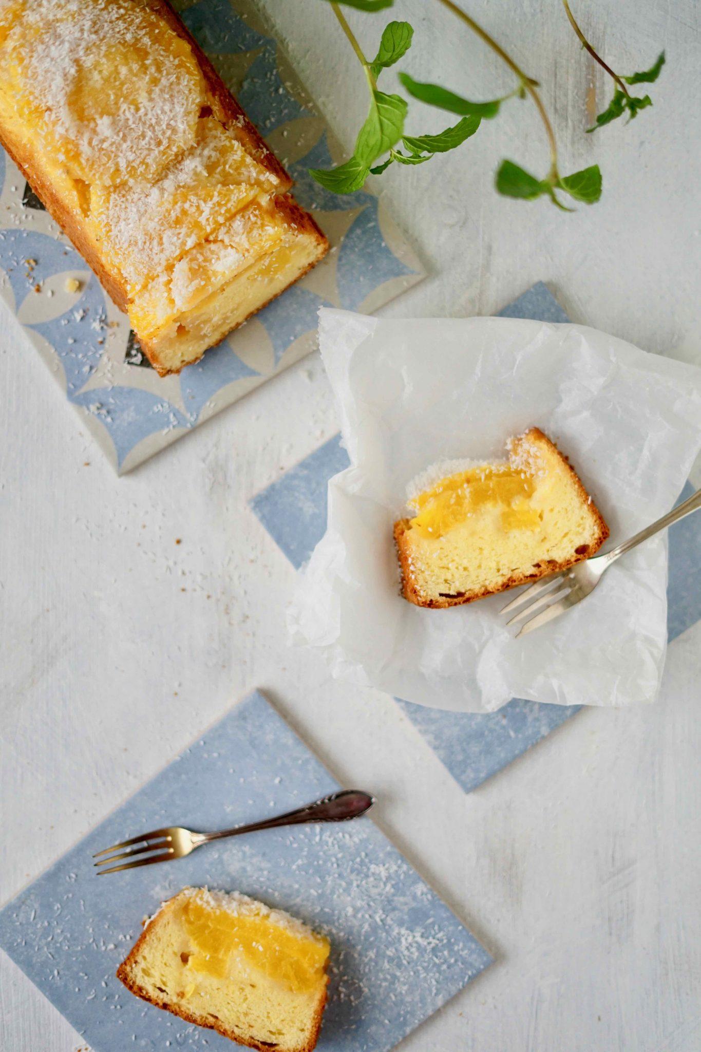 Bolo de ananás - Portugiesischer Ananaskuchen