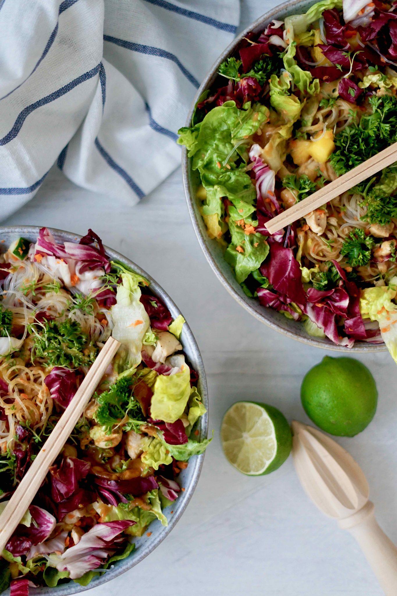 Summer Rolls Salat