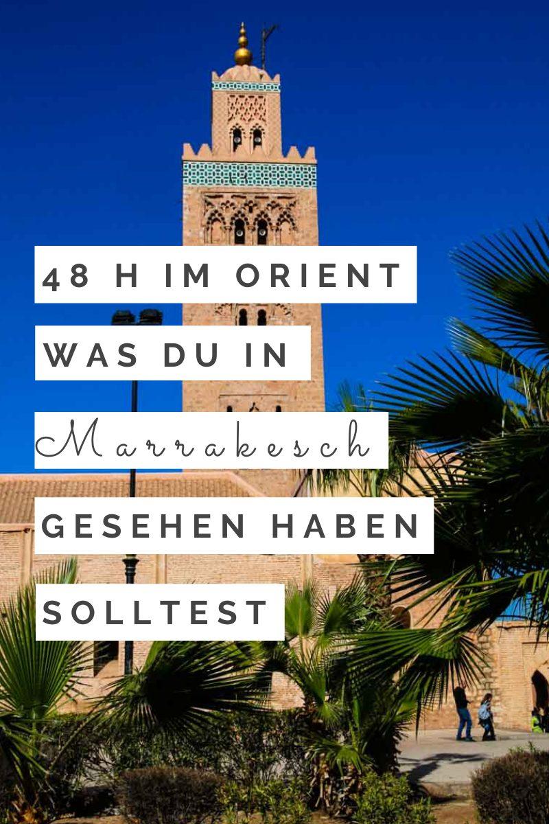 Marrakesch Travel Guide