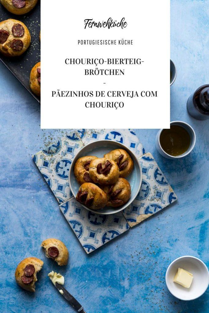 Pinterest Chouriço-Bierteig-Brötchen