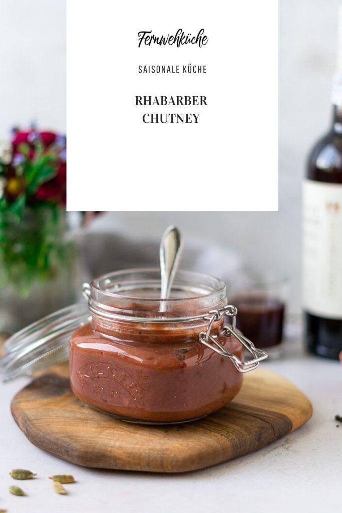 Rhabarer-Portwein-Chutney