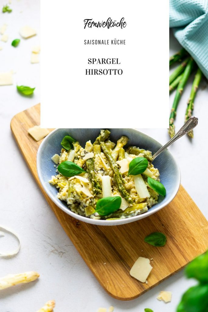 Pinterest Spargel-Hirsotto