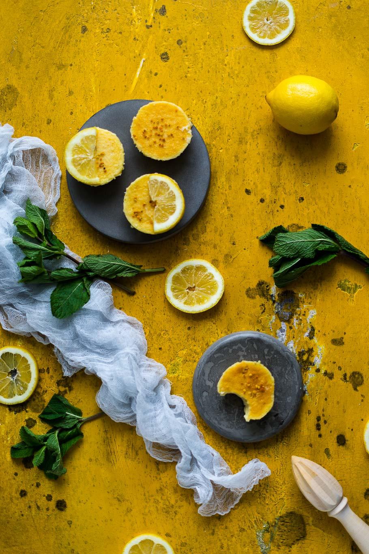 Queijadinhas de Limão