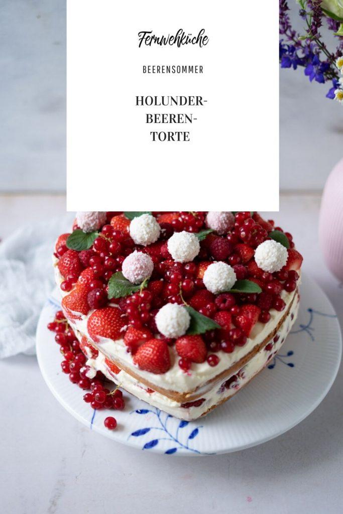 Holunder-Beeren-Torte