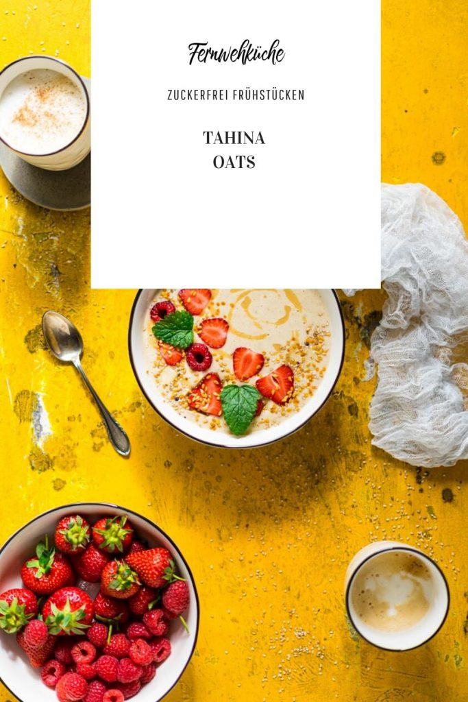 Pinterest Tahina Oats