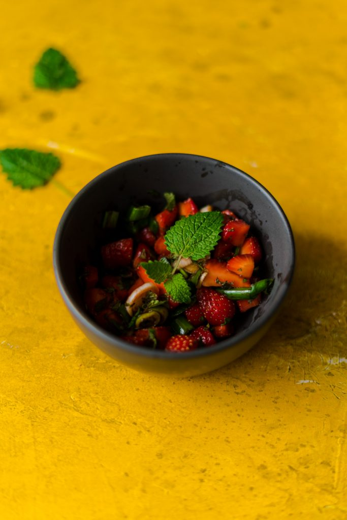 Erdbeer-Salsa