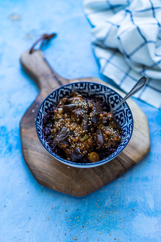 Auberginen Sichuan