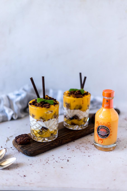 Fruchtiges Eierlikör-Tiramisu-Trifle
