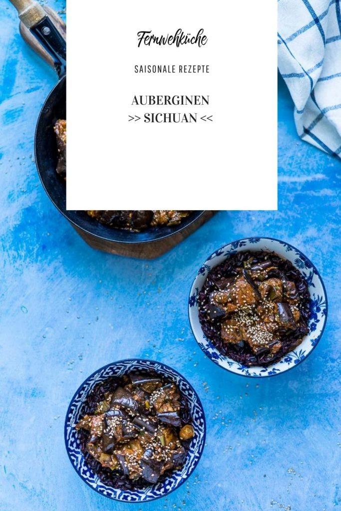 Pinterest Auberginen Sichuan