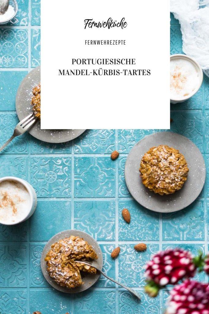 Pinterest Portugiesische Mandel-Kürbis-Tartes