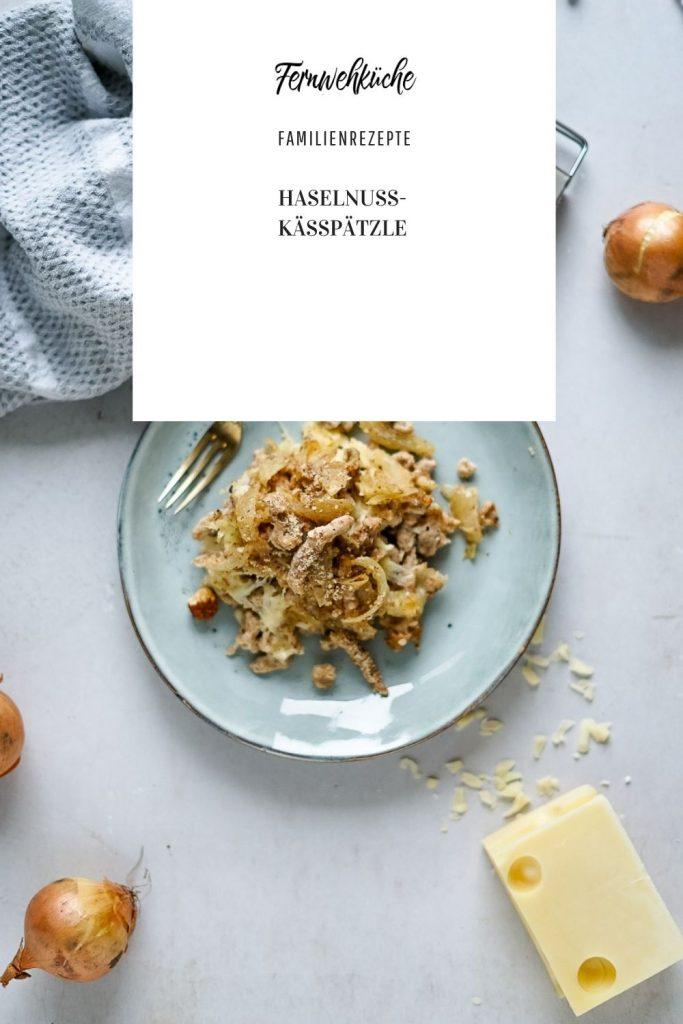 Pinterest Haselnuss-Käsespätzle