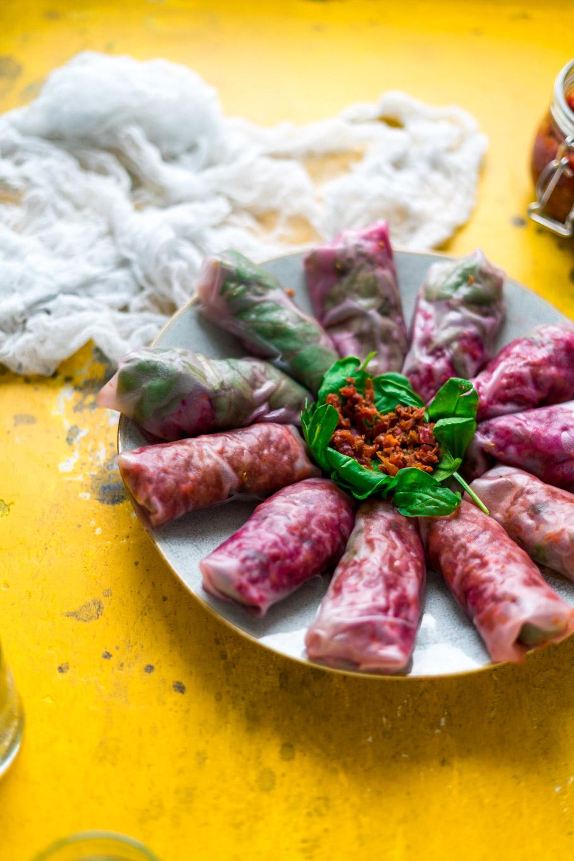 Kimchi Rolls