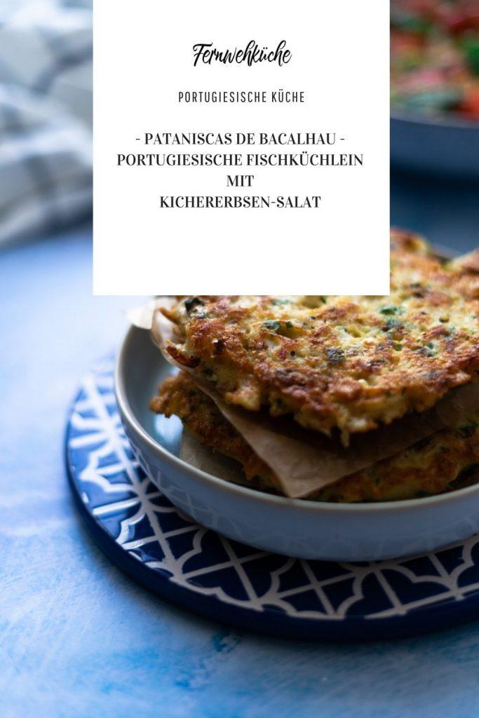 Pataniscas de bacalhau Pinterest