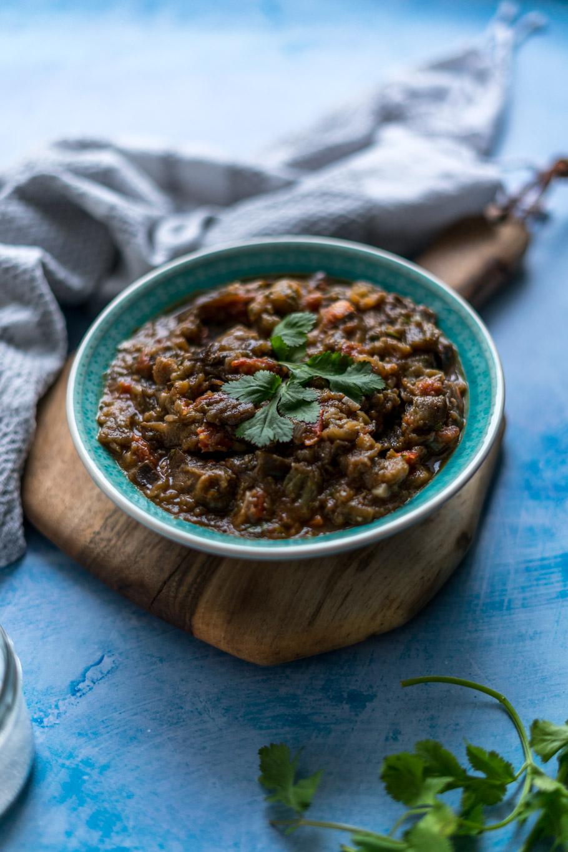 Zaalouk - Marokkanischer Auberginensalat