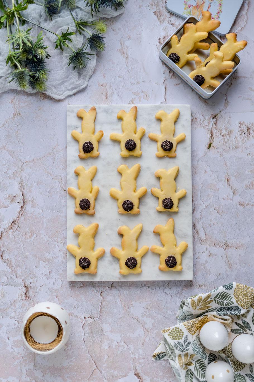Eierlikör-Osterhasen-Kekse