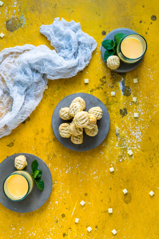 Eierlikör-Shortbread-Kekse