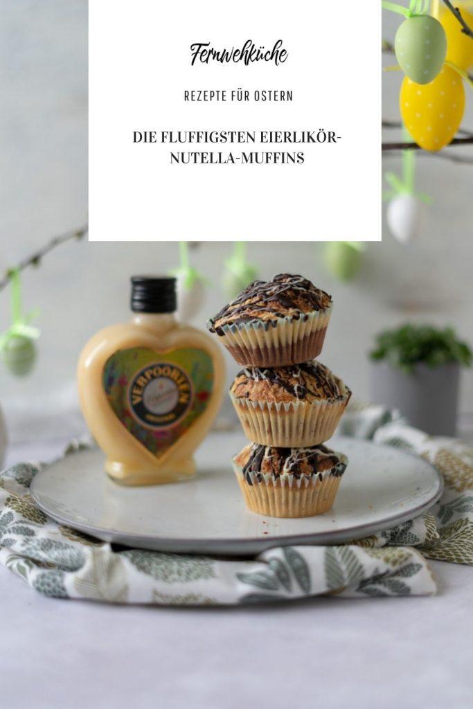 Pinterest Eierlikör-Nutella-Marmor-Muffins