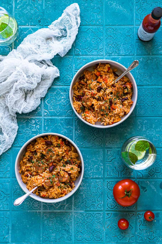 Arroz de Feijão - Portugiesischer Reis mit Bohnen