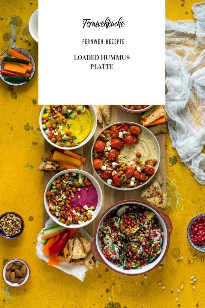 Pinterest Loaded Hummus