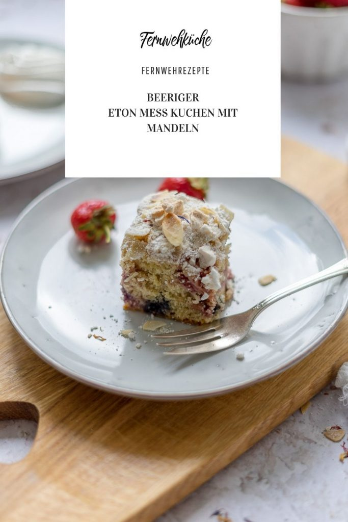 Pinterest Eton Mess-Mandelkuchen