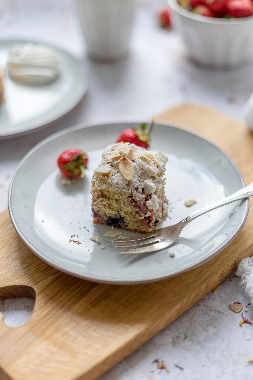 Eton Mess-Mandelkuchen