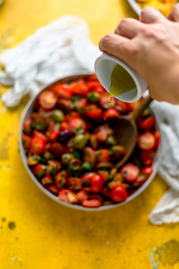 Chorizo Tomaten-Salat